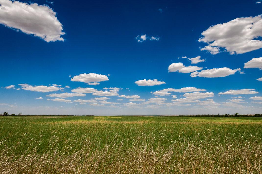 Wo der Horizont den Himmel berührt kostenlos herunterladen