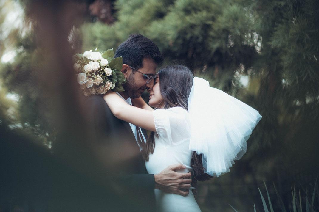 Fotograf für deutsch Arabisches Brautpaar Shooting in Frankfurt und Deutschlandweit