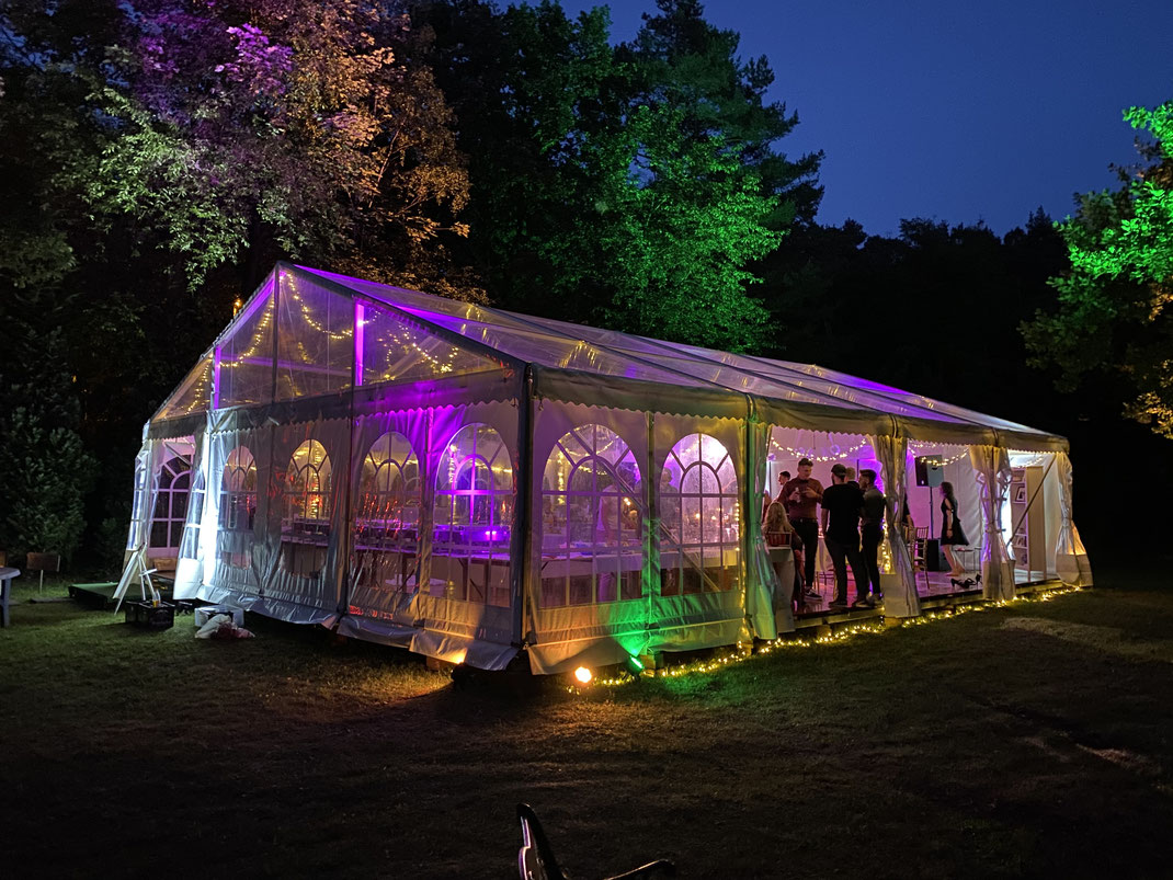 LED Beleuchtung, Event Gütersloh, Veranstaltungstechnik