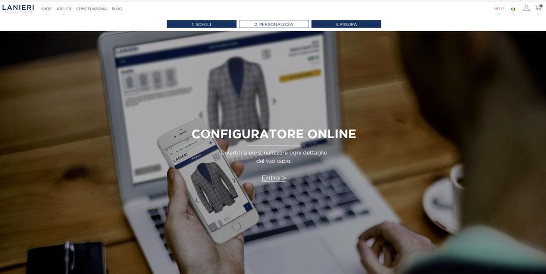 Configuratore from lanieri.com