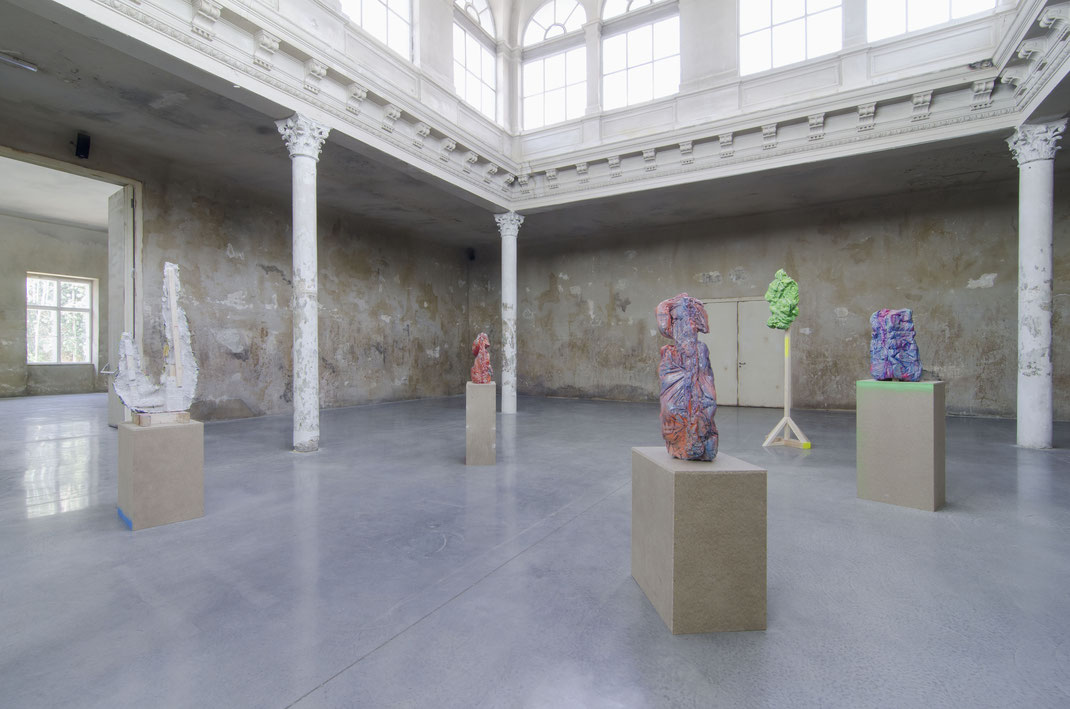 Formaunica series, Installation view at Reaktor, Vienna, April 2018