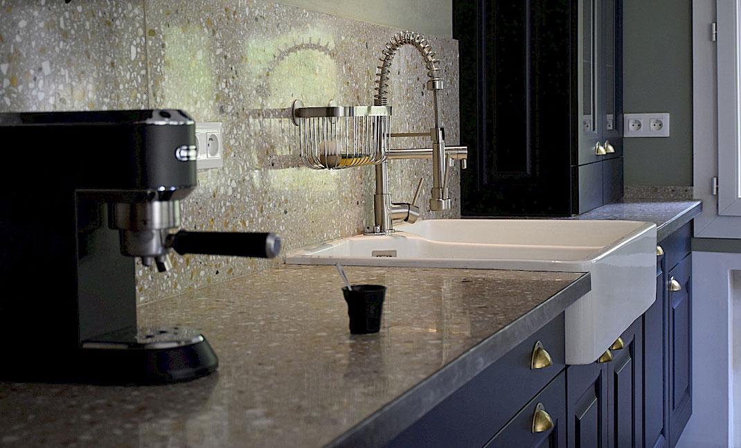 Plan de travail de cuisine Granito / Terrazzo - AD LUCEM