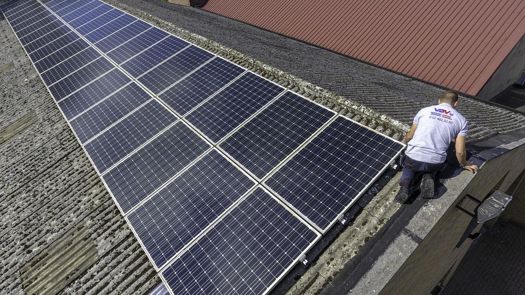 VDV installe panneaux solaires Bruxelles