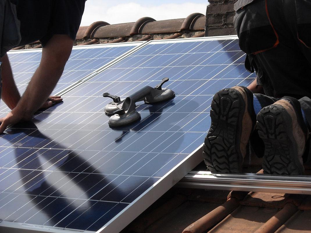 Pose panneaux solaires Bruxelles