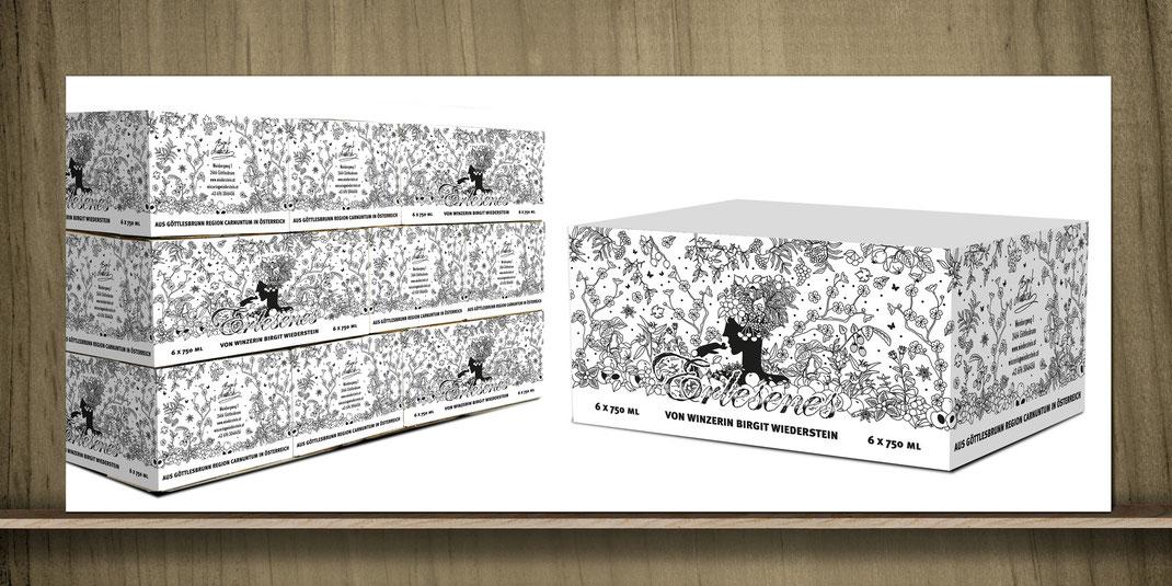 BIRGIT WIEDERSTEIN // Kartondesign // Ideenentwicklung: Erlesenes