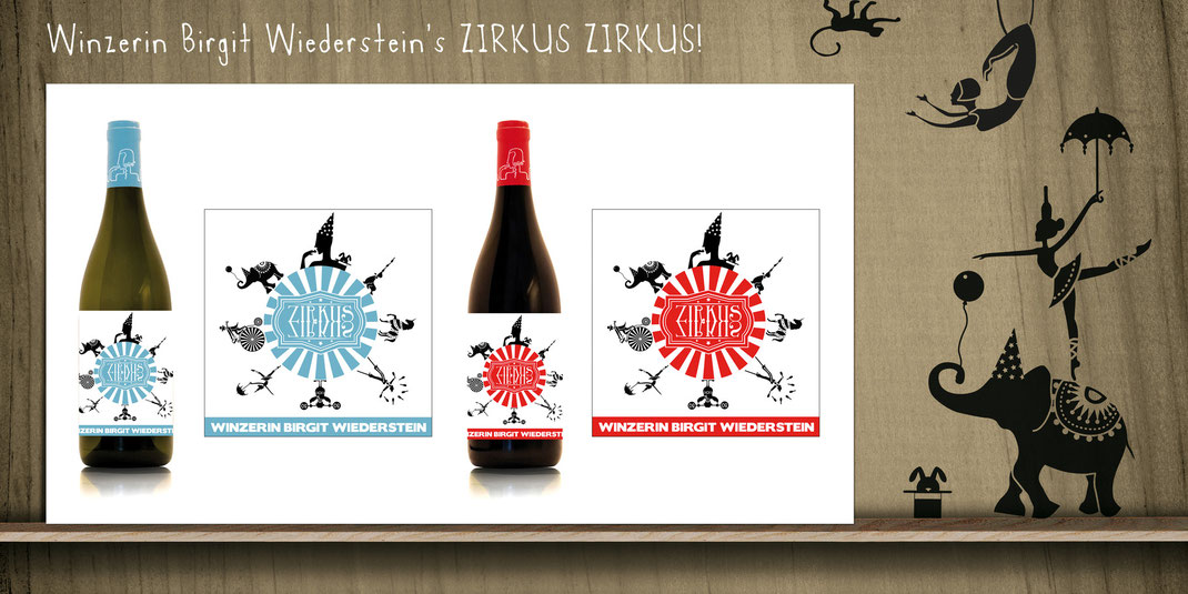 BIRGIT WIEDERSTEIN // Etikettendesign