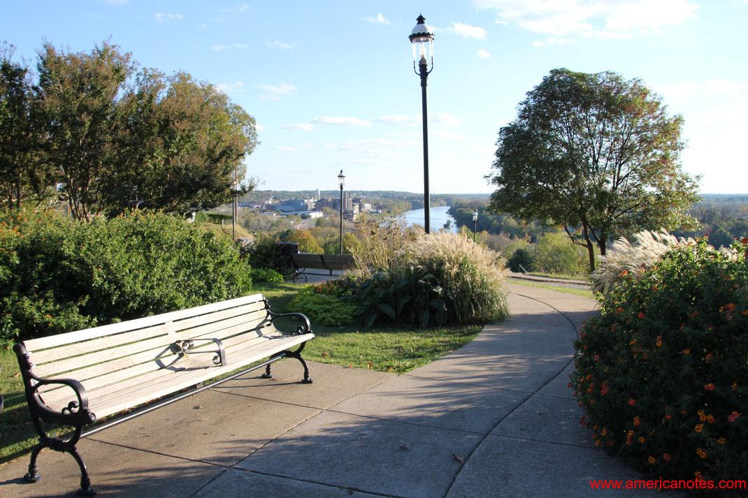 Die besten Sehenswürdigkeiten und Reisetipps für Richmond. James River in Richmond.