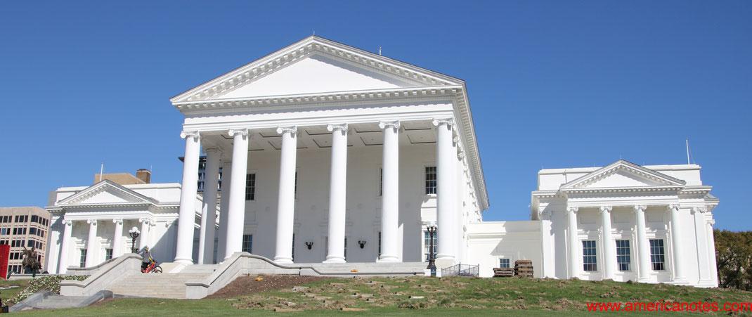 Die besten Sehenswürdigkeiten und Reisetipps für Richmond. Virginia Capitol in Richmond.