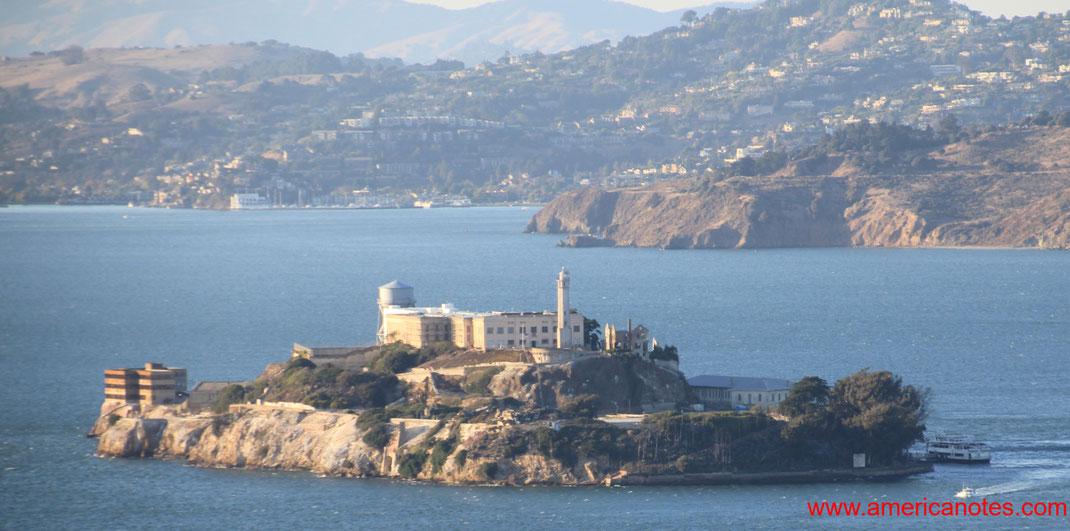 Sehenswürdigkeiten und Reisetipps San Francisco. Alcatraz Island.