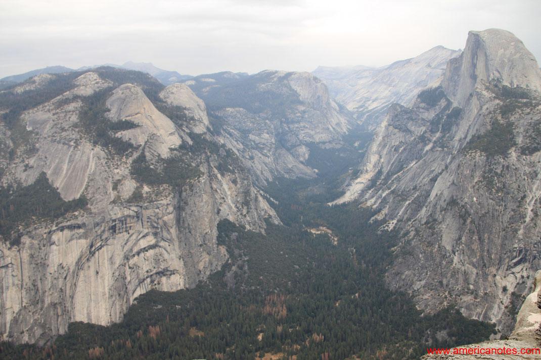 Yosemite Nationalpark Reisetipps und Sehenswürdigkeiten. Half Dome.