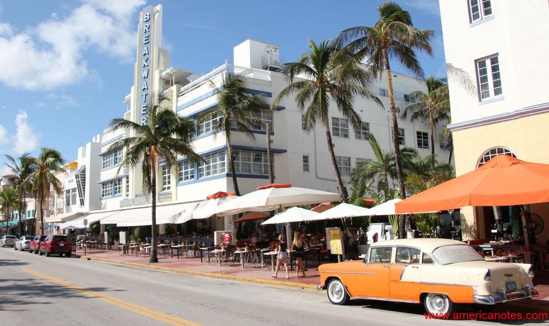 Die besten Sehenswürdigkeiten und Reisetipps für Miami, Florida. Ocean Drive.