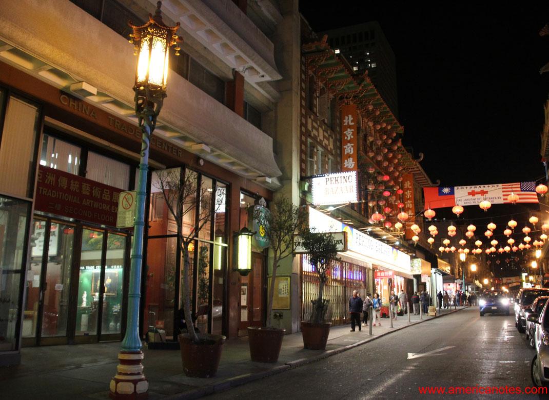 Sehenswürdigkeiten und Reisetipps San Francisco. Chinatown.