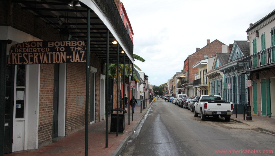 Die besten Sehenswürdigkeiten und Reisetipps für Louisiana. Französischen Viertel in New Orleans.