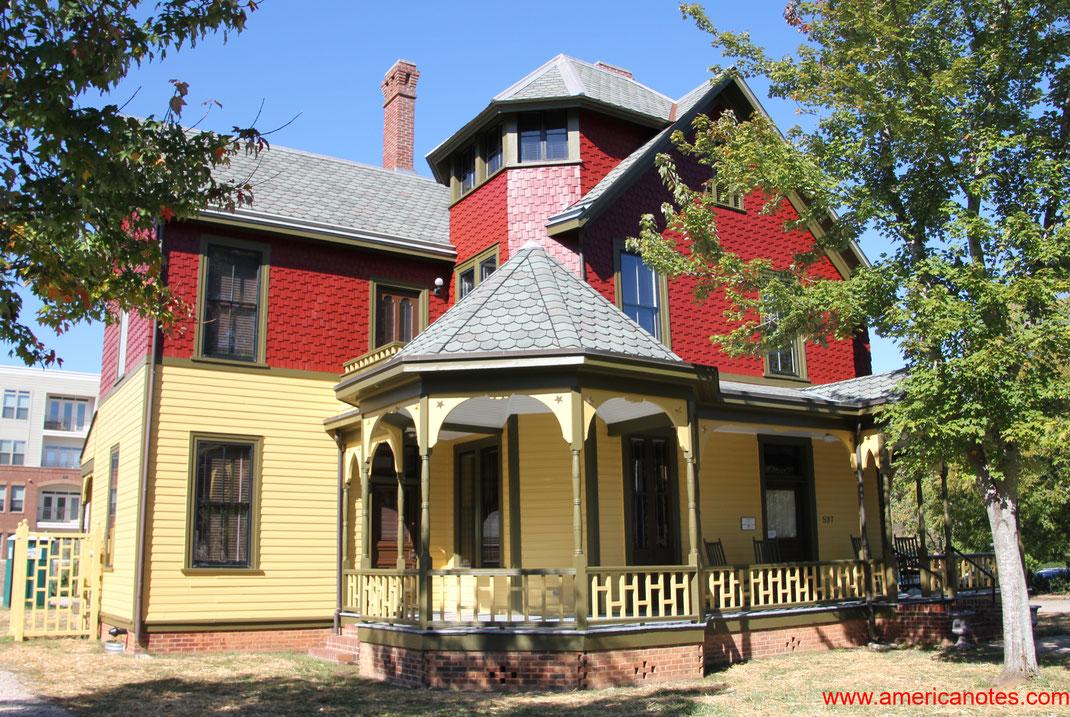 Die besten Sehenswürdigkeiten und Reisetipps für Raleigh. Polk House in Raleigh.