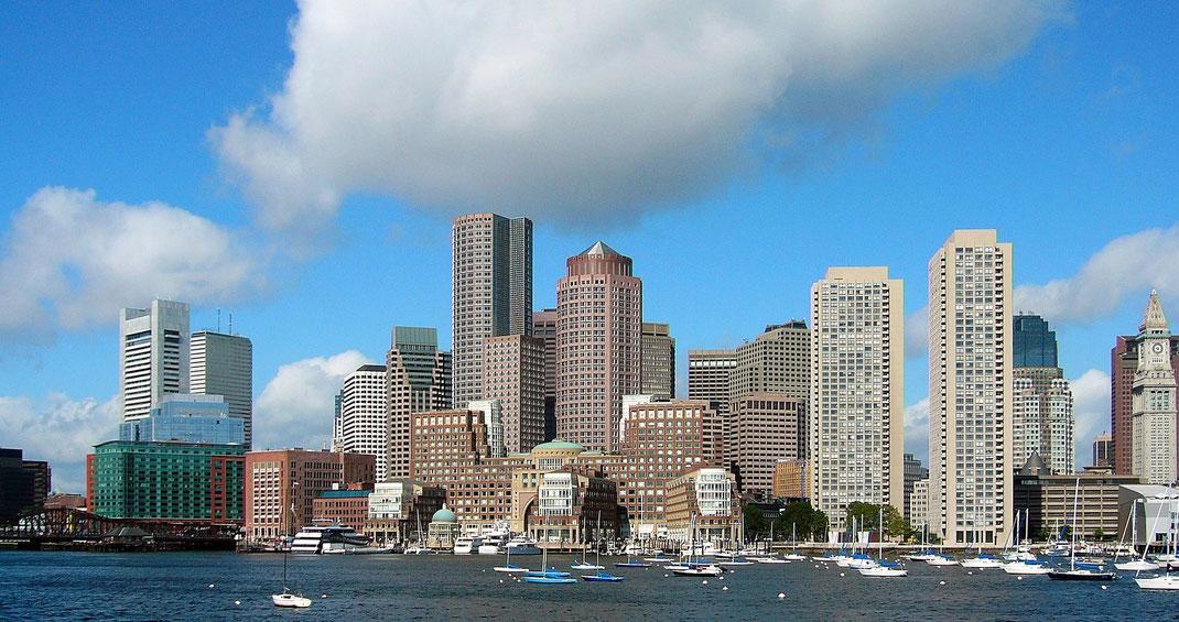 Die besten Sehenswürdigkeiten und Reisetipps für Boston. Boston Downtown.