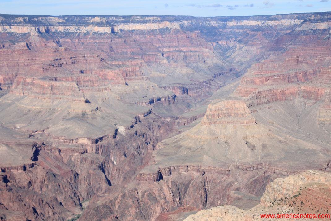 Grand Canyon Nationalpark Reisetipps und Sehenswürdigkeiten. South Rim.