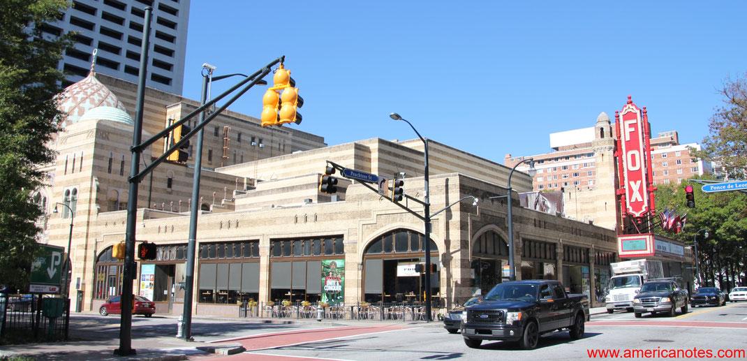 Die besten Sehenswürdigkeiten und Reisetipps für Atlanta. Fox Theater in Downtown Atlanta.