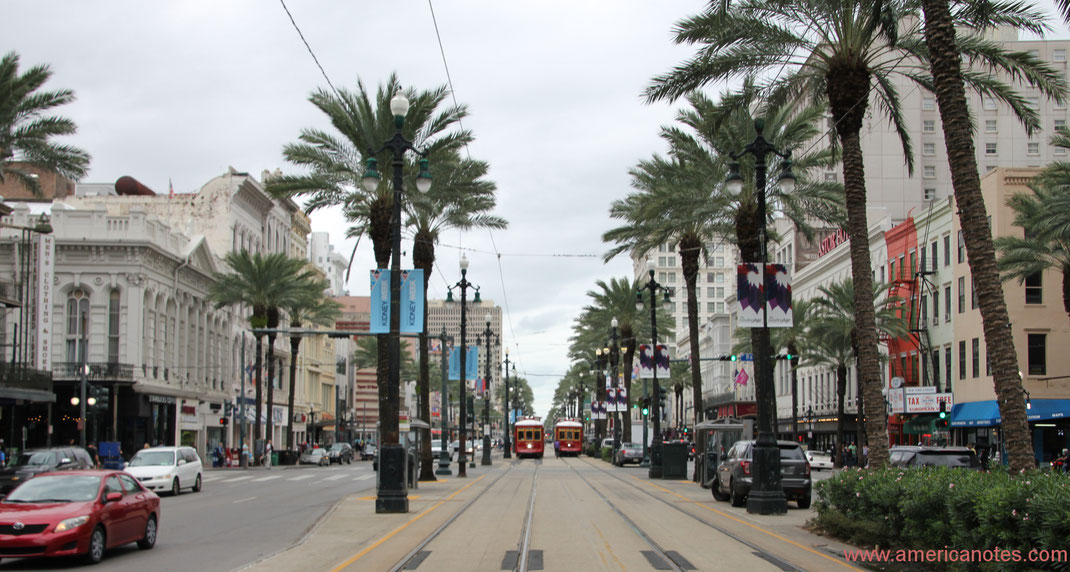 Die besten Sehenswürdigkeiten und Reisetipps für New Orleans. Downtown New Orleans.