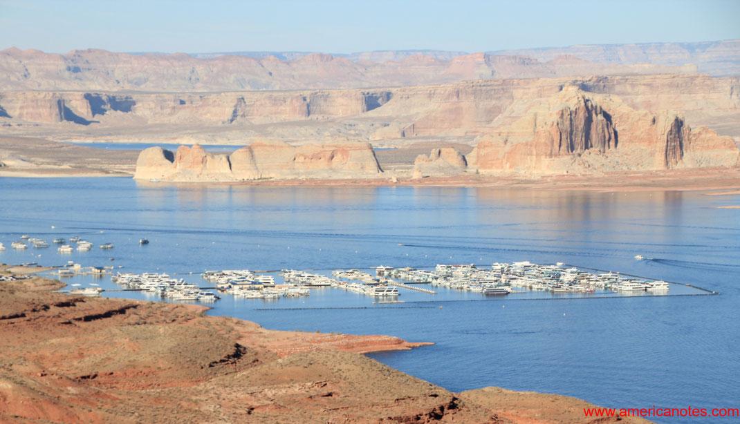 Grand Canyon Nationalpark Reisetipps und Sehenswürdigkeiten. Lake Powell.