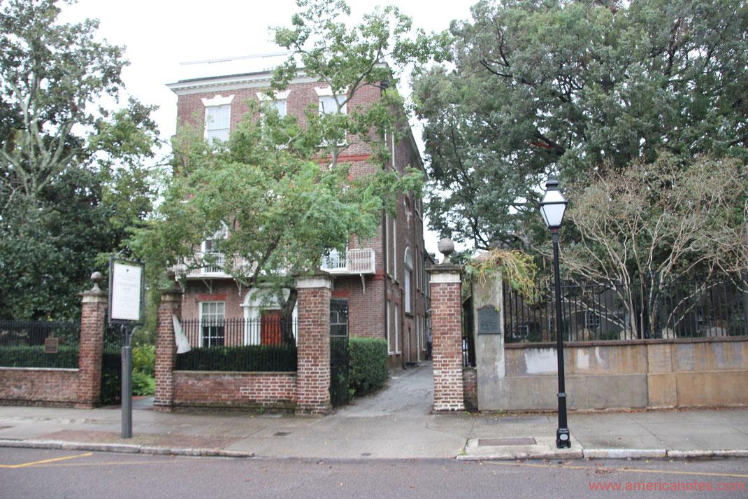 Die besten Sehenswürdigkeiten und Reisetipps für South Carolina. Nathaniel Russel House in Charleston.