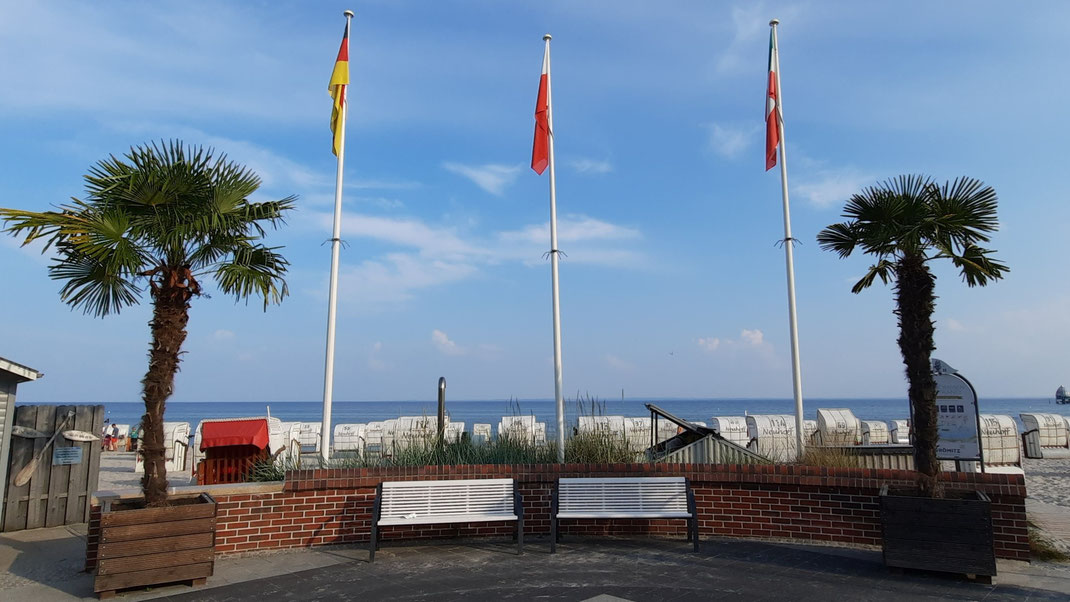 Richtung Meer ist der Blick ganz schön...