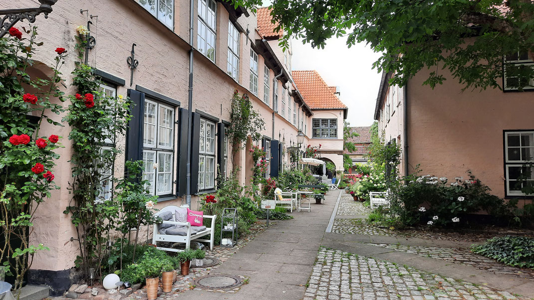 Füchtings Hof in Lübeck