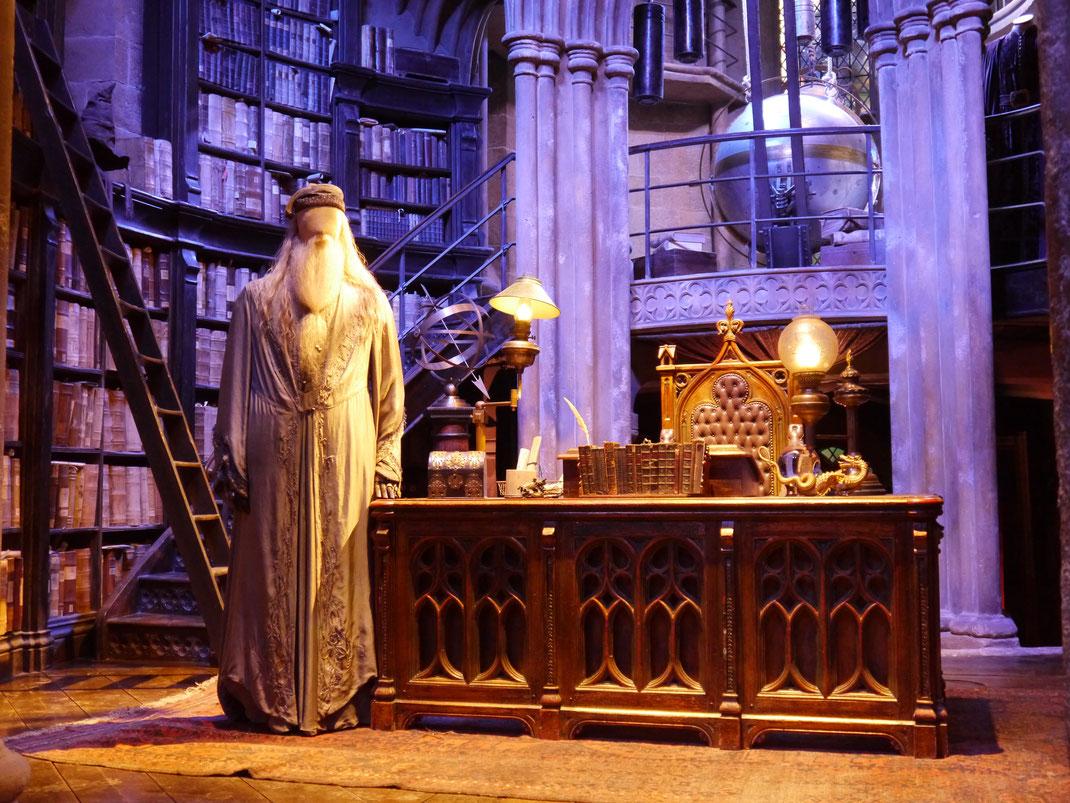 Büro des Schulleiters Albus Dumbledore Studios London