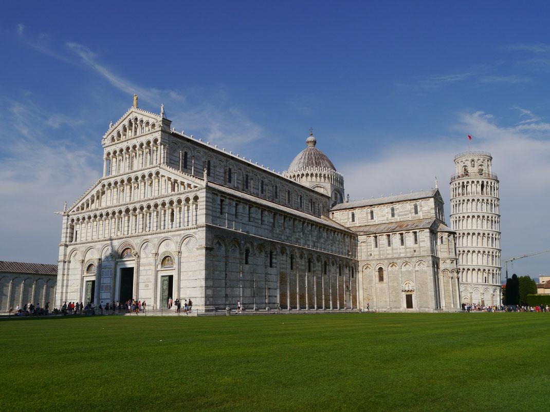 Pisa und natürlich der