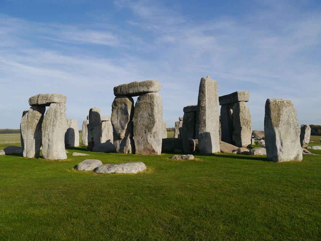 Die Megalith-Felsen von Stonehenge