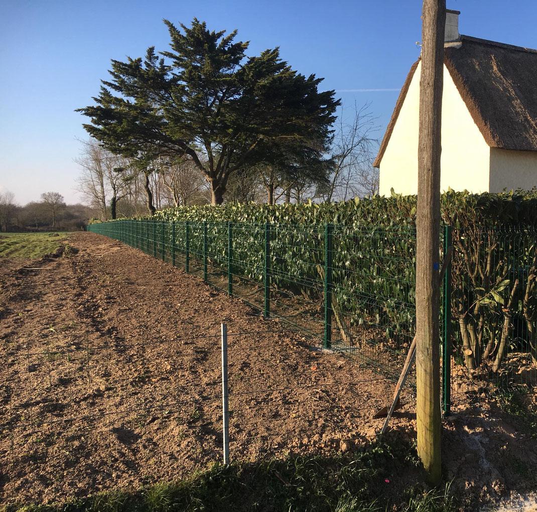 Pose de clôture et portails par ManuPaysage