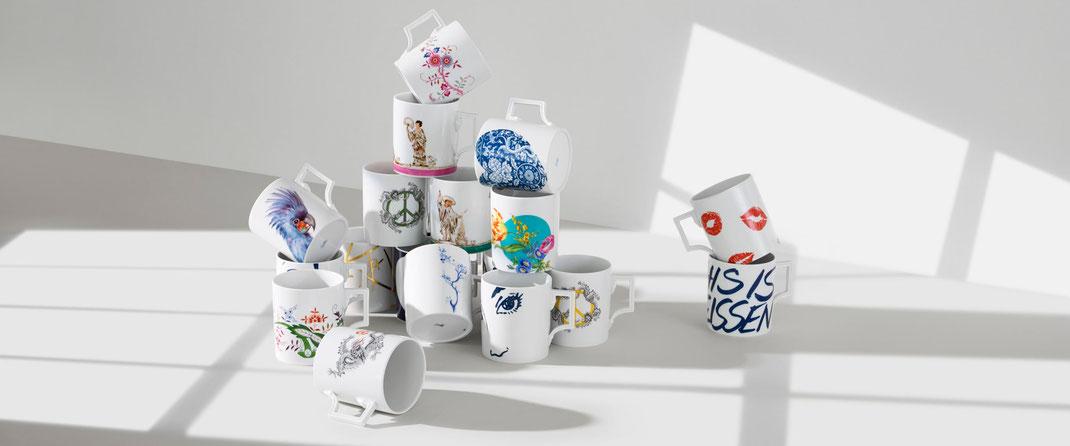 Deutsches Design deutsche Mode MEISSEN Porzellan Online Manufaktur MadeinGermany Haus Glanz