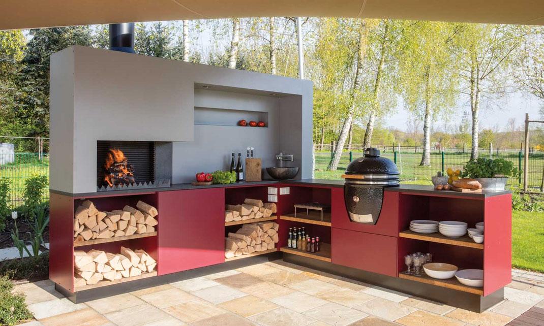 Outdoor Küchen Trend : Outdoor küchen in modulbauweise u ausgezeichnet und nicht von der