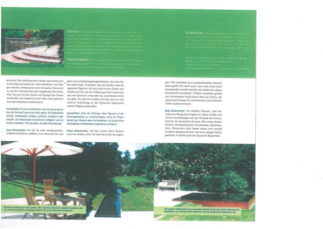Presse - Scharnweber Garten- und Landschaftsbau