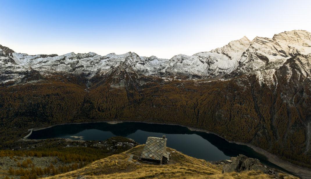 Cialme PNGP - Parco Nazionale Gran Paradiso - Montagna - Autunno - Tramonto