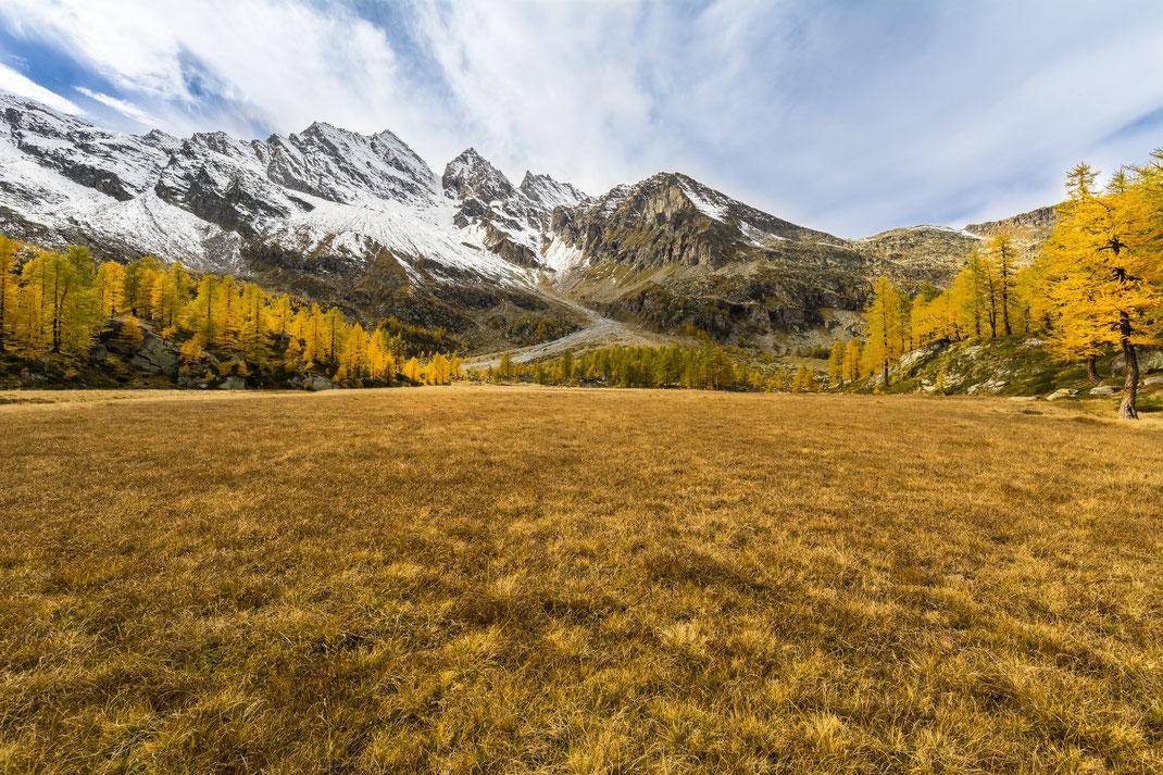 Lago Dres - Parco Nazionale Gran Paradiso - Autunno - Montagna