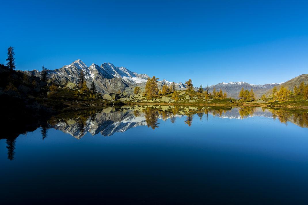 Laghi di Bellagarda - Parco Nazionale Gran Paradiso - Alba - Montagna - Autunno