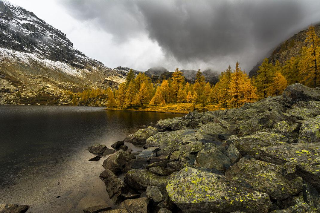 Lago Cornuto - Parco Naturale Mont Avic - Autunno - Colori - Montagna