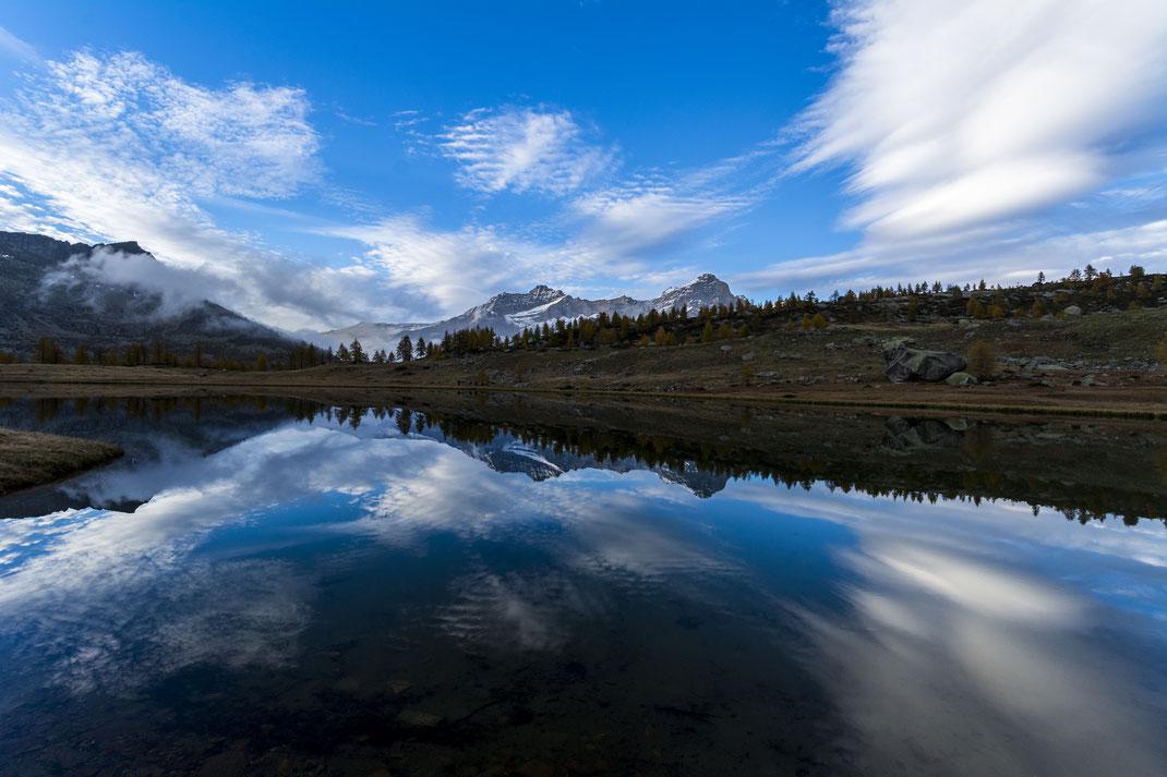 Lago Dres - Parco Nazionale Gran Paradiso - Montagna - Autunno - Tramonto
