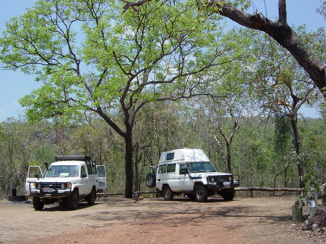 Campground Wangi Falls Litchfield Nt. Park