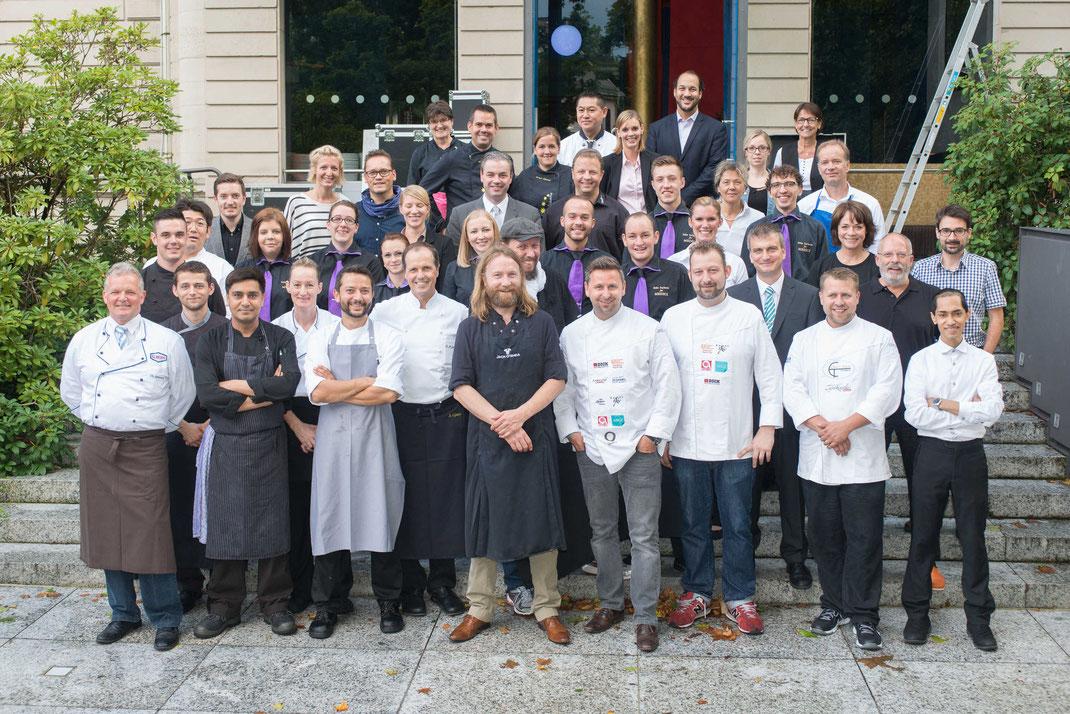 Das Team der Grillarena - Foto von Medici Baden-Baden