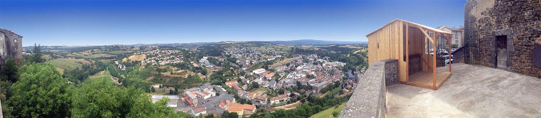 hourd panoramique saint-flour - david magnou