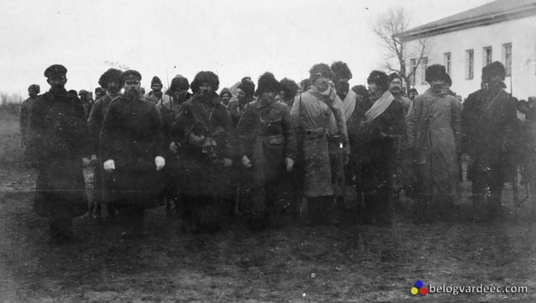 Последние резервы, отправленные командованием на фронт Казаки 3-й взводной бригады 6-й дивизии Донской армии, осень 1919 г.
