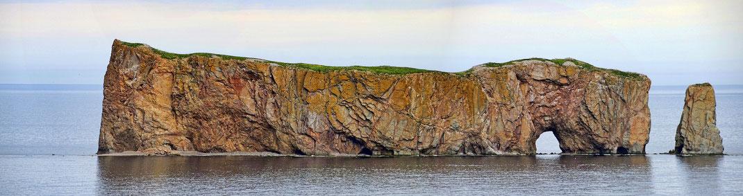 Le Rocher Percé de Percé en Gaspésie au Québec