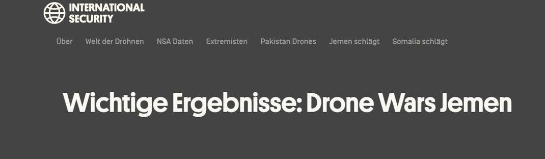 Wichtige Ergebnisse: Drone Wars Jemen - Drone Wars Jemen: Analysea || Das internationale Sicherheitsprogramm von New America konzentriert sich auf die evidenzbasierte Analyse der internationalen Sicherheitsfragen, einschließlich des Aufstiegs ...