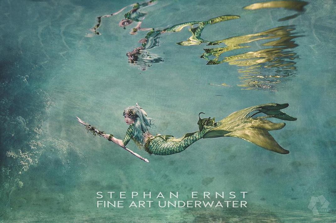 FineArt Unterwasserfotografie Thüringen Meerjungfrauen