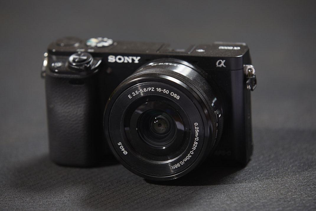 Sony a6000 mit Kit Objektiv