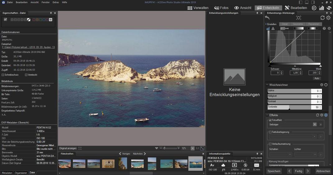 ACDSee Photo Studio - Entwickeln - Fotoeffekt