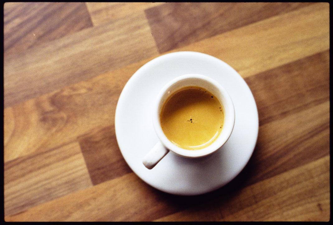 ein Espresso geht immer