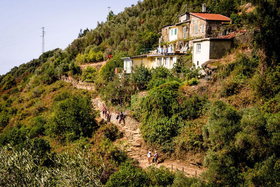 Cinque Terre - Wanderwege zwischen den Dörfern