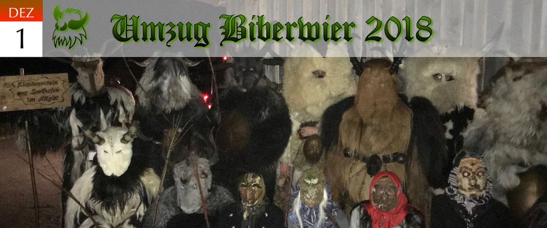 KVSF Klausenverein Sonthofen e.V. Umzug Biberwier 2018